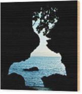 Lovers Rock Wood Print