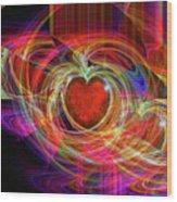 Love's Joy Wood Print