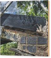 Low Bridge Wood Print