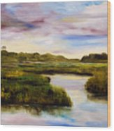 Low Country Wood Print