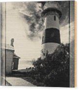 Low Head Lighthouse Wood Print