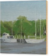 Low Tide No.2 Wood Print