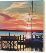 Lowcountry Leisure Wood Print