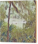 Lowcountry Summer Wood Print