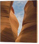 Lower Antelope Slot Canyon, Page, Arizona Wood Print
