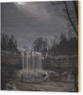 Lower Ball's Falls Wood Print