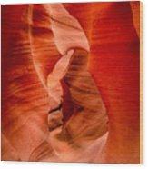 Lower Canyon 34 Wood Print