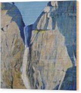 Lower Falls, Yosemite Wood Print