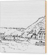 Lower Fishguard Wood Print