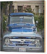 Lower Ford Truck Wood Print