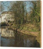 Lower Mill Of Cullompton  Wood Print