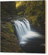 Lower Punchbowl Falls 1 Wood Print