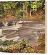 Lower Tahquamenon Falls 1 Wood Print
