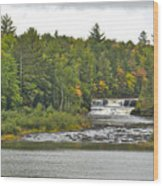 Lower Tahquamenon Falls 4 Wood Print