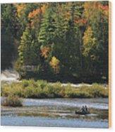 Lower Tahquamenon Falls  4351 Wood Print