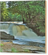 Lower Tahquamenon Falls Wood Print