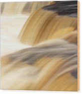 Lower Tahquemenon Falls Wood Print