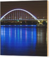 Lowery Bridge Wood Print