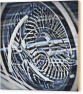 Lowrider Wheel Illusions 1 Wood Print