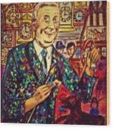 Lowry's Painting Suit Vintage Wood Print