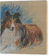 Loyal Companion Wood Print