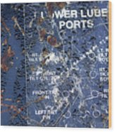 Lube Port Wood Print