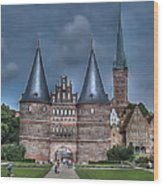 Lubek Germany Wood Print