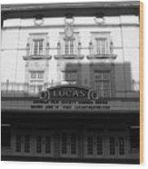 Lucas Movie House 1921 Wood Print