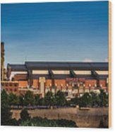 Lucas Oil Stadium Wood Print