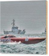 Lucas Oil Superboat Race Wood Print