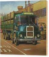 Lucas Scammell Routeman I Wood Print by Mike  Jeffries