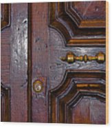 Lucca Door Wood Print