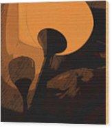Luce Wood Print