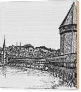 Lucerne Wood Print