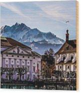 Lucerne's Architecture Wood Print