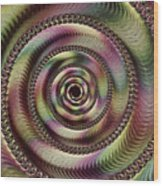 Lucid Hypnosis Abstract Wall Art Wood Print