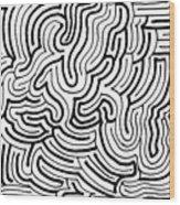 Lucidity Wood Print
