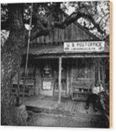 Luckenbach Texas Wood Print