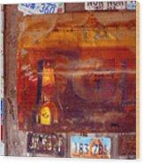 Luckenbach Tx Wood Print