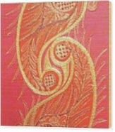 Lucknow's Chikangari Wood Print