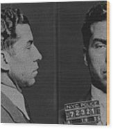 Lucky Luciano Wood Print