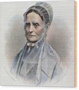 Lucretia Coffin Mott Wood Print by Granger