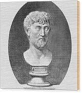 Lucretius (96 B.c.?-55 B.c.) Wood Print by Granger