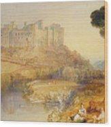 Ludlow Castle  Wood Print