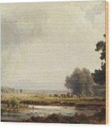 Ludwig Deutsch, Landscape Wood Print