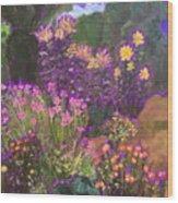 Luhan Garden  Wood Print