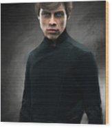 Luke Skywalker Wood Print