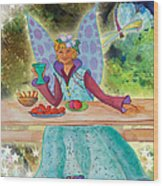 Lulu Beth Twinkle At The Banquet Wood Print