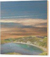 Lulworth Cove Wood Print