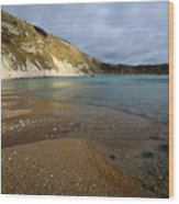 Lulworth Cove Wood Print